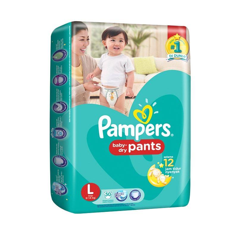 Pampers Dry Pants L ...i [50 Pcs]