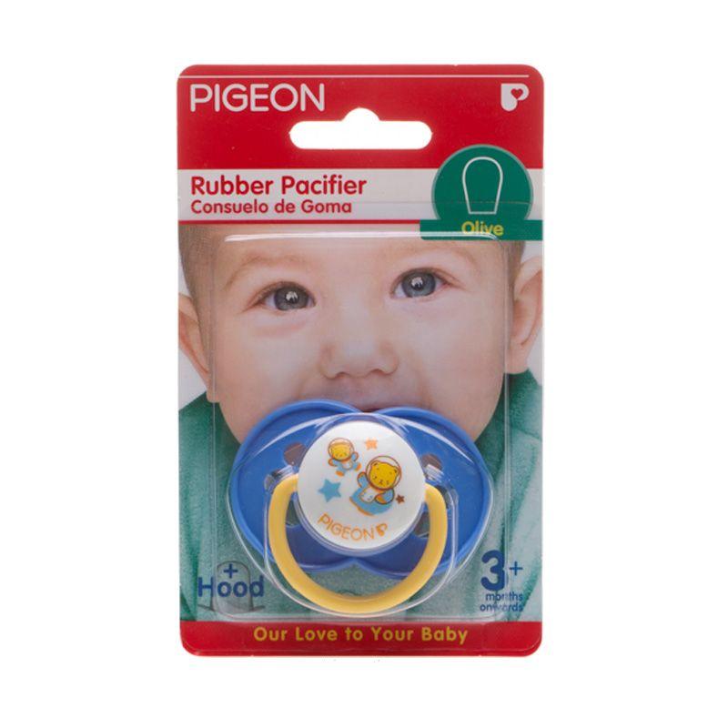Pigeon Rubber Pacifier EG1 Olive Flower P Dot Bayi