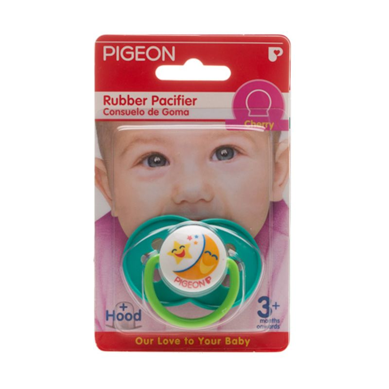 Pigeon Rubber Pacifier RG3 Cherry Flower Y Dot Bayi