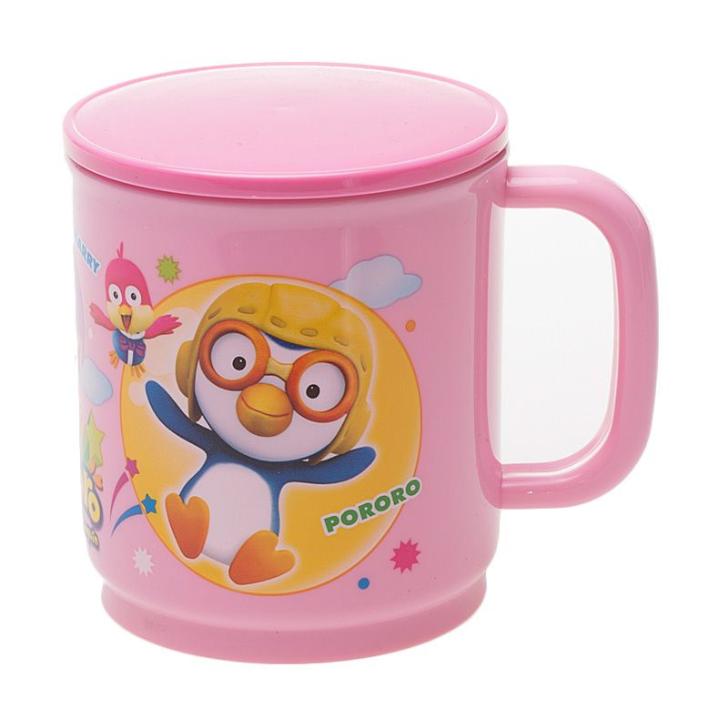 Pororo & Friends Day Out Pink Cup