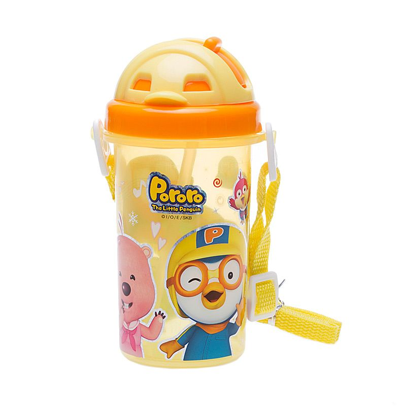 Pororo & Friends Happy Slide Yellow Botol Minum