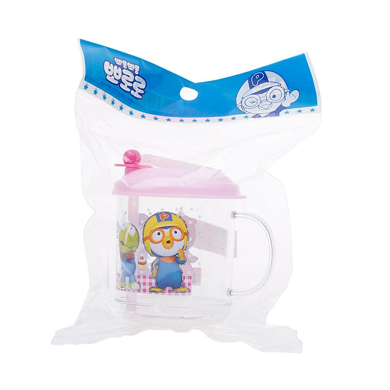 Pororo & Friends Pink Baby Training Cup
