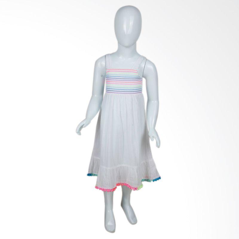 SO Summer White Dress Anak