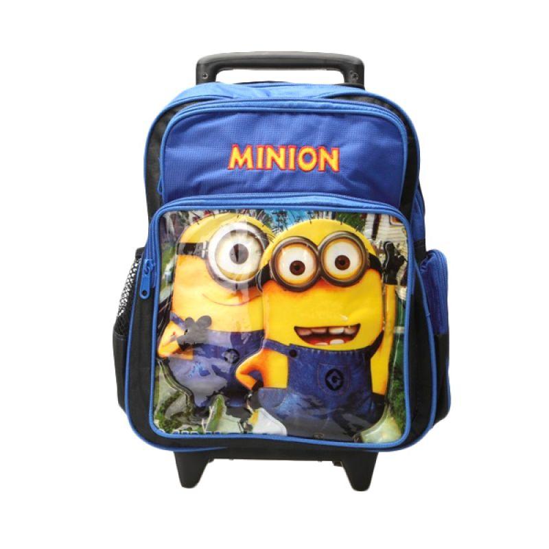Unico 1M-1 Trolley Minion Blue Tas Sekolah Anak