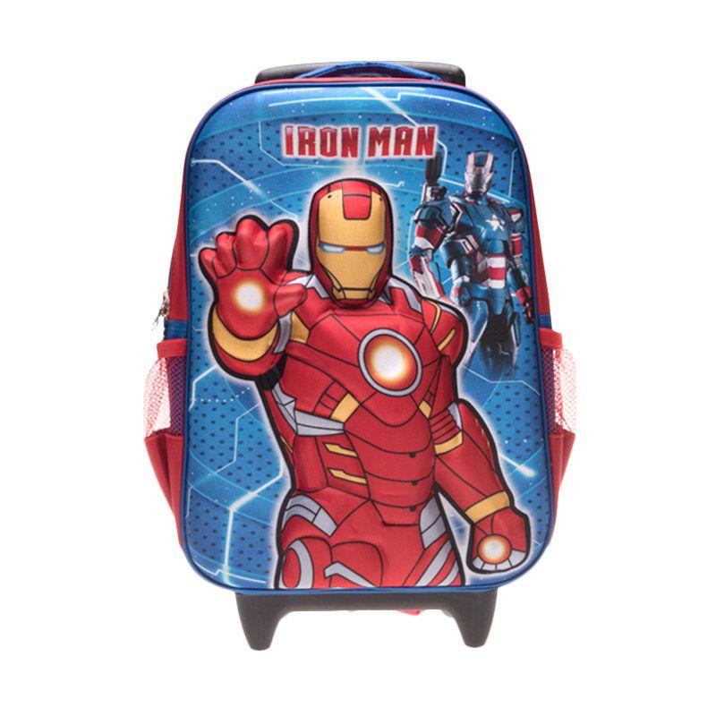 Unico 3D Iron Man 23DIM Blue Red Tas Sekolah [Large]