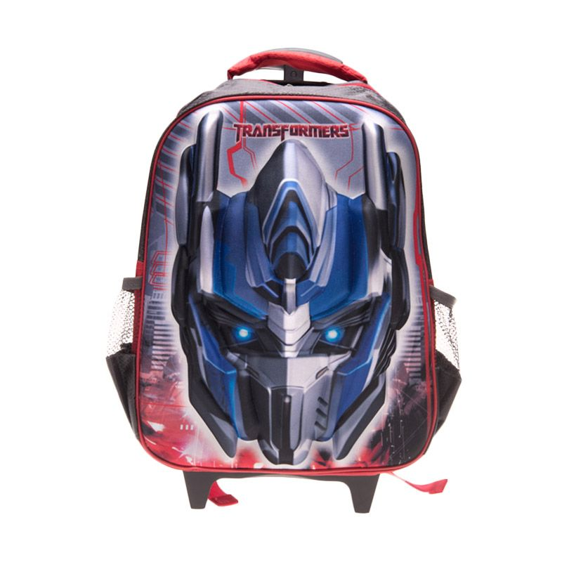 Unico 3D Transformers 23DT Blue Tas Sekolah [Large]