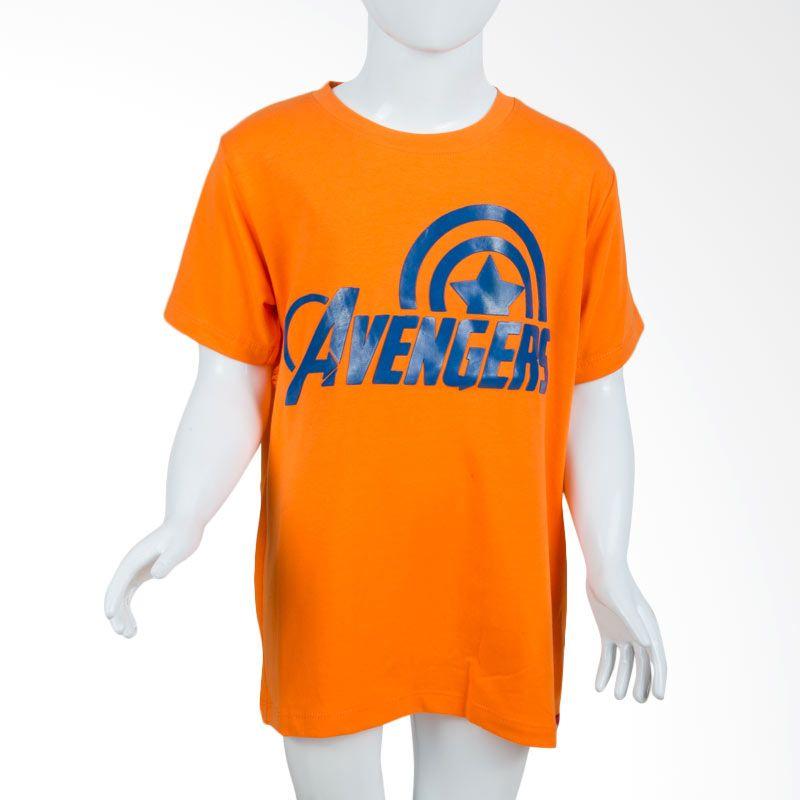 Unico Avengers Orange Kaos Anak