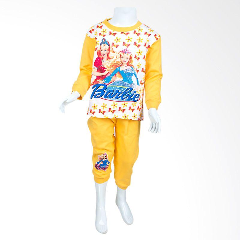 Unico Barbie PB01 Yellow Baju Tidur Anak