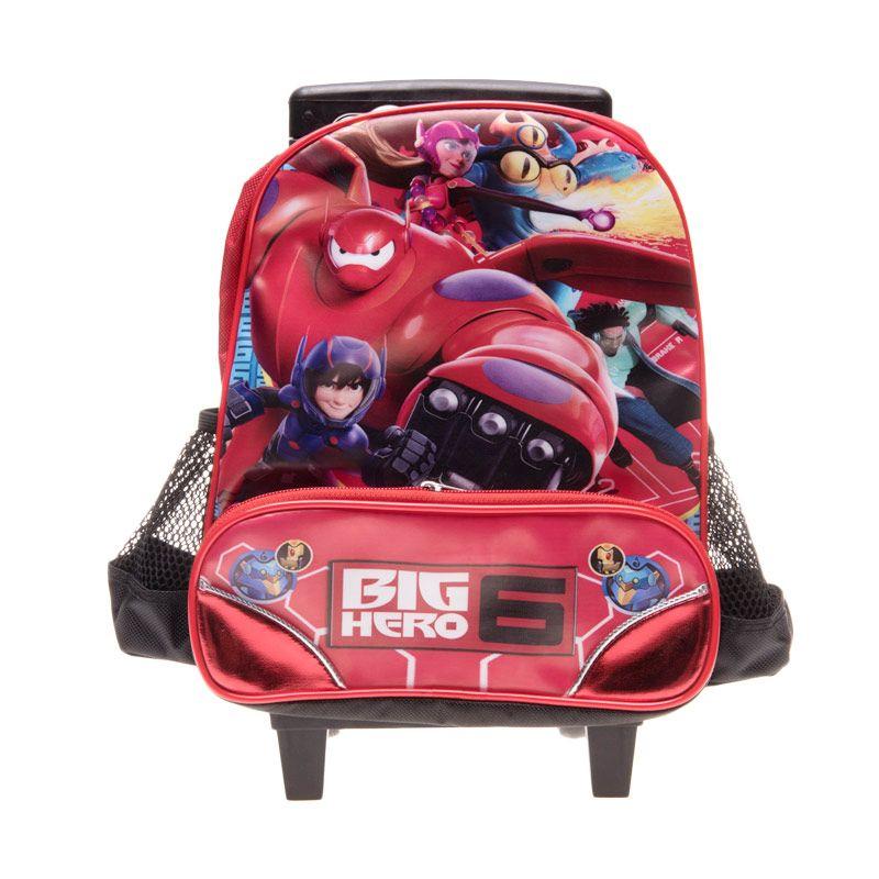 Unico D16801BH Big Hero Red Tas Sekolah [10 Inch]
