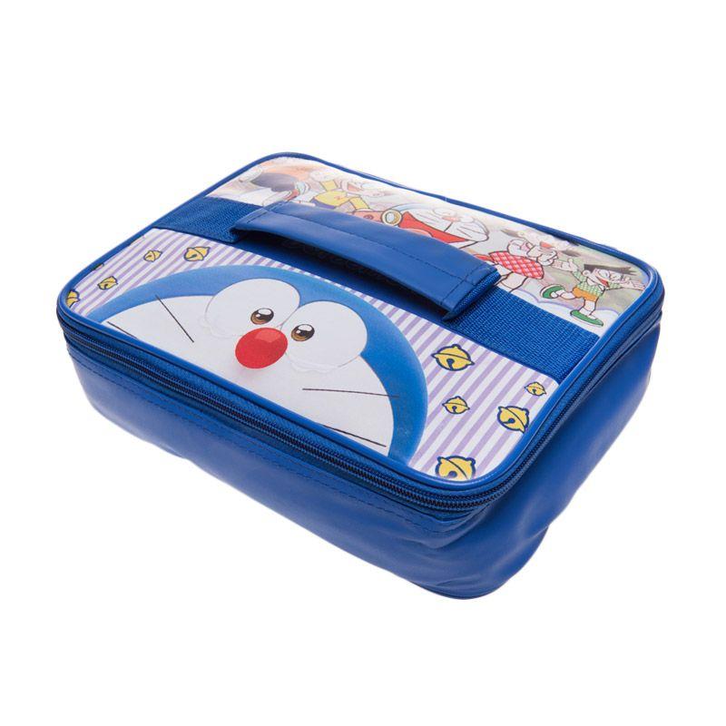 Unico Doraemon 103 Blue Thermal Lunch Bag [Small]
