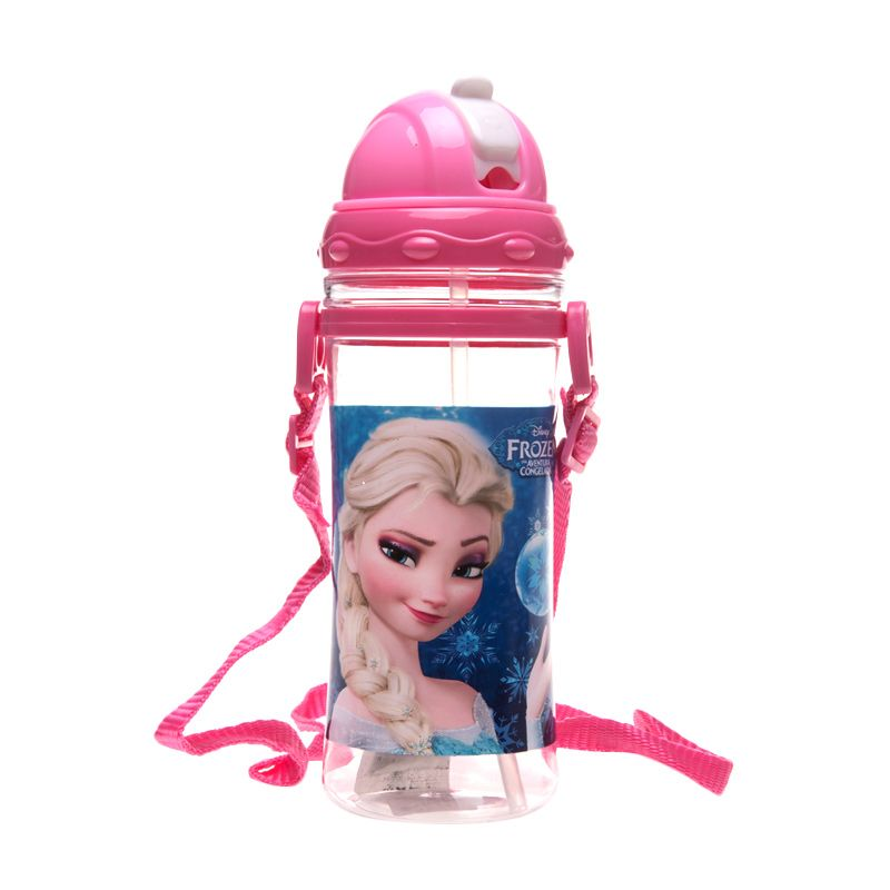 Unico Frozen 6010 Pink Botol Minum [500 mL]