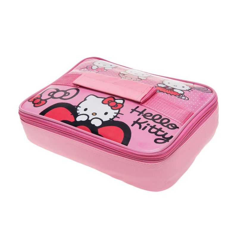 Unico Hello Kitty 103 Pink Thermal Lunch Bag [Small]