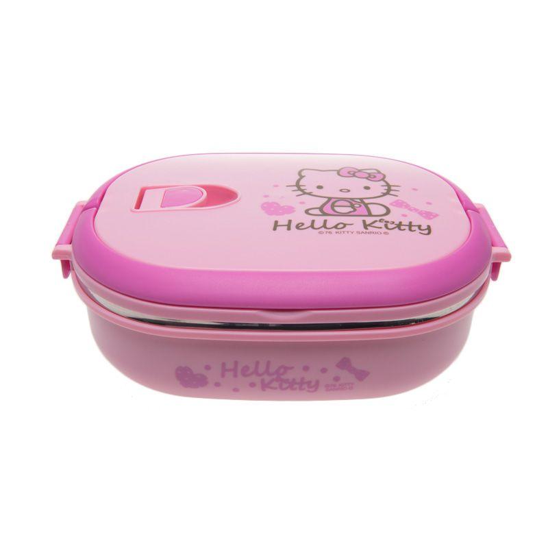 Unico Hello Kitty C-50103 Rantang Oval Pencil Pink Tempat Makan