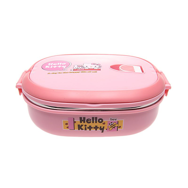 Unico Hello Kitty C-50103 Rantang Oval Pink Tempat Makan
