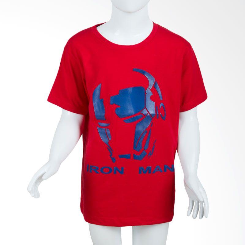 Unico Iron Man Red Kaos Anak