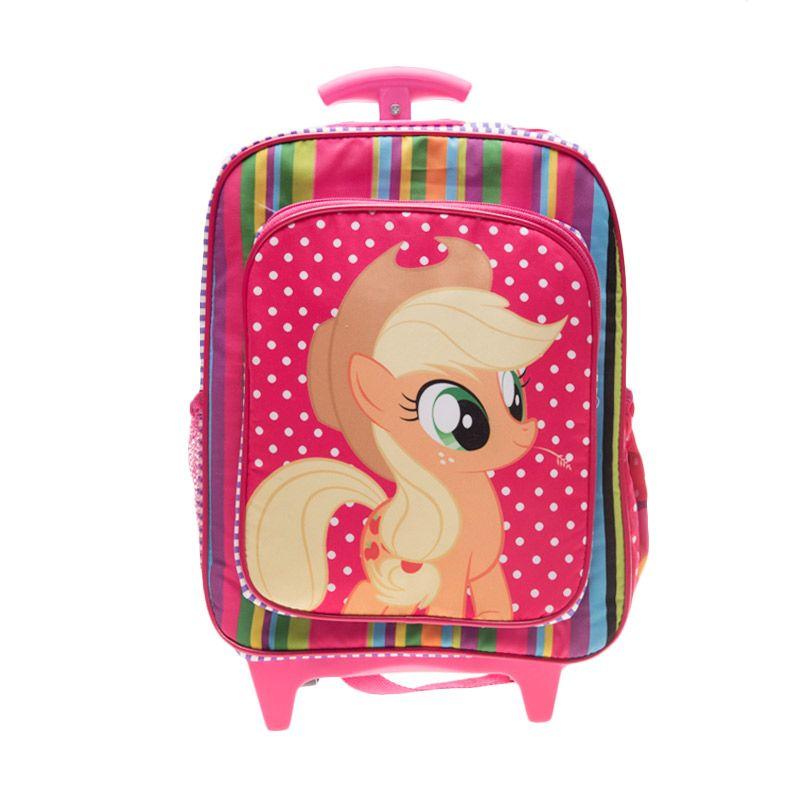 Unico Kanvas Apple Jack KAJ10 Pink Tas Ransel Anak [Small]