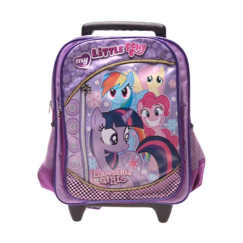 Unico Little Pony 1LP Small Purple Tas Sekolah