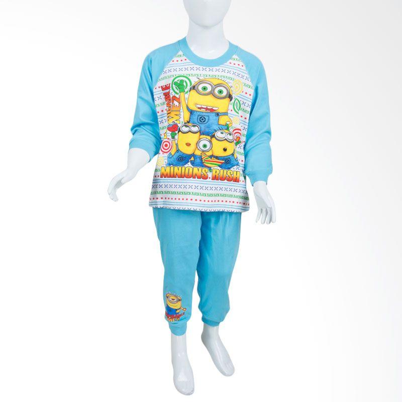 Unico Minions PM01 Blue Baju Tidur Anak