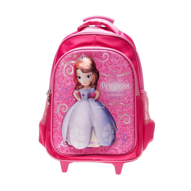Unico 3D Sofia 23DS2 Pink Tas Ransel Anak [Large]