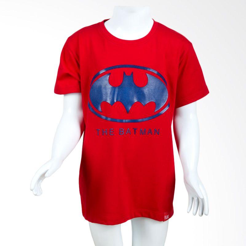 Unico The Batman 1556 Red Kaos Anak