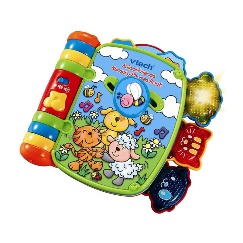 Vtech Animal Friends Nursery Rhymes Book 80027503 Mainan Anak