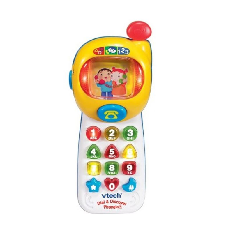 Vtech Dial and Discover Phone 8063303 Mainan Anak