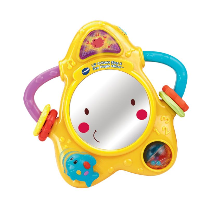 Vtech Lil Critters Sing And See Magic Mirror 80-150400 Mainan Anak