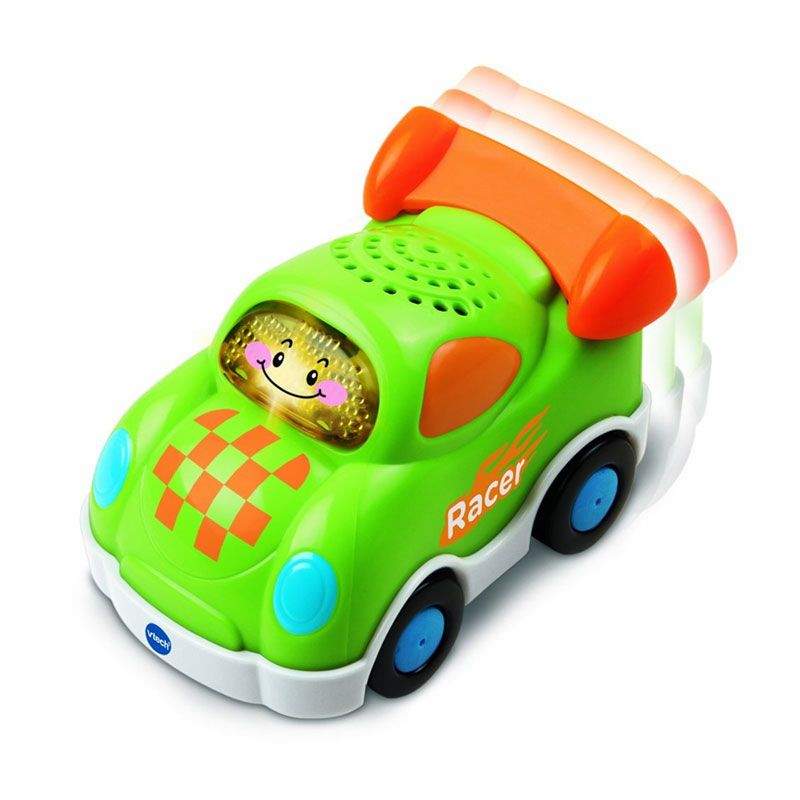 Vtech Toot Toot Drivers Green Race Car 80143800 Mainan Anak