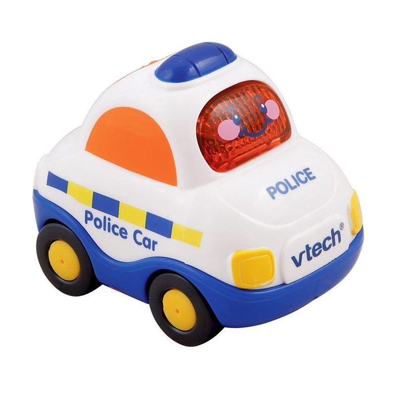 Vtech Toot Toot Drivers Police Car 80119903 Mainan Anak
