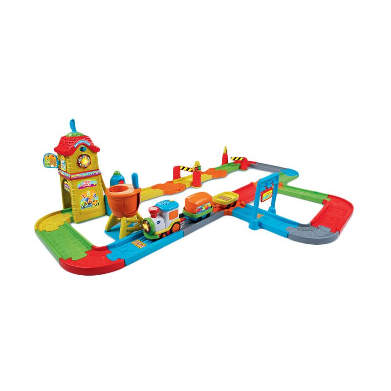 Vtech Toot-Toot Drivers Train Station 80-146703 Mainan Anak