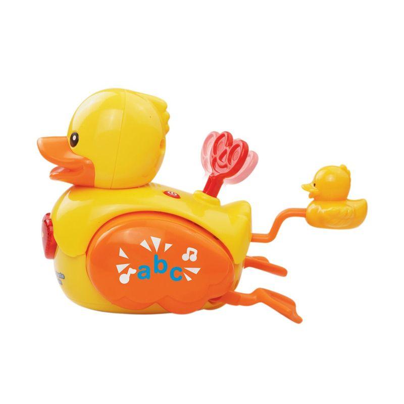 Vtech Wind And Waggle Ducks 80-151603 Yellow Mainan Anak
