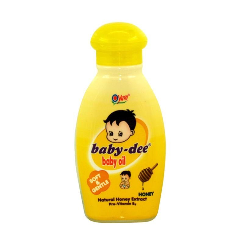 YURI Baby Dee Honey Baby Oil [200 mL]