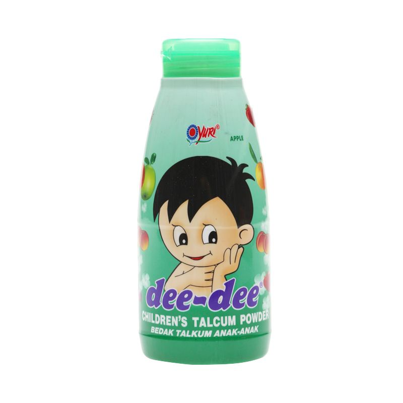 YURI Dee-Dee Apple Talc Powder Bedak Bayi [150 gr]