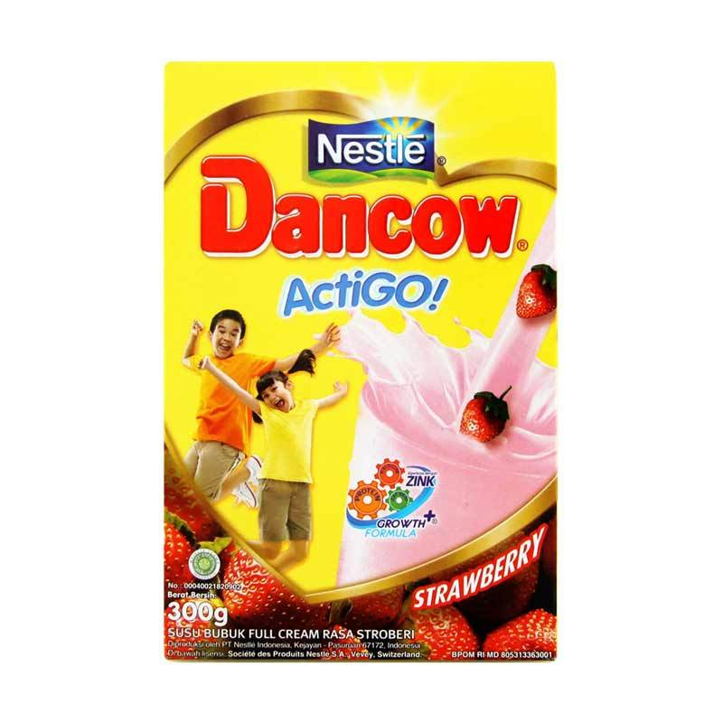 Dancow Actigo Strawberry 300gr Box