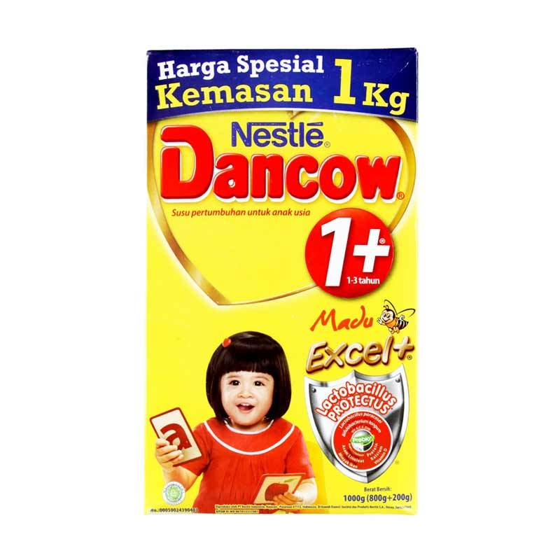Dancow Madu 1+ 1000gr Box