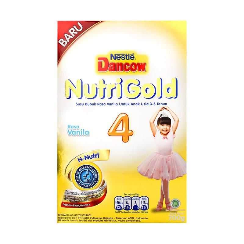 Dancow Nutrigold 4+ Madu 700gr Box