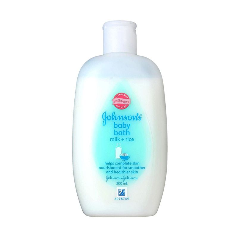 Johnson's Baby Bath Milk + Rice 200ml