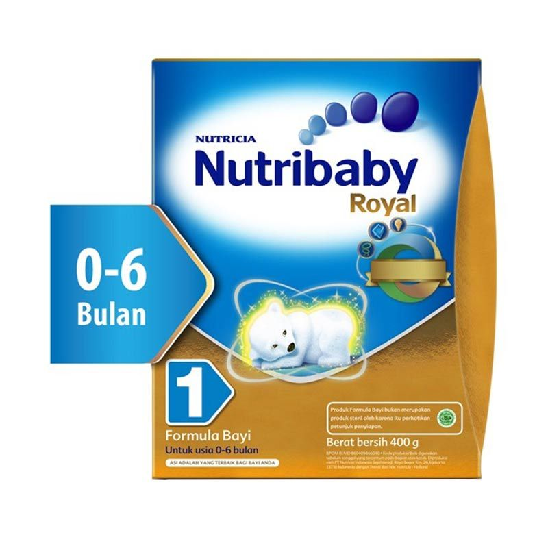 Nutribaby Royal 1 400gr Box