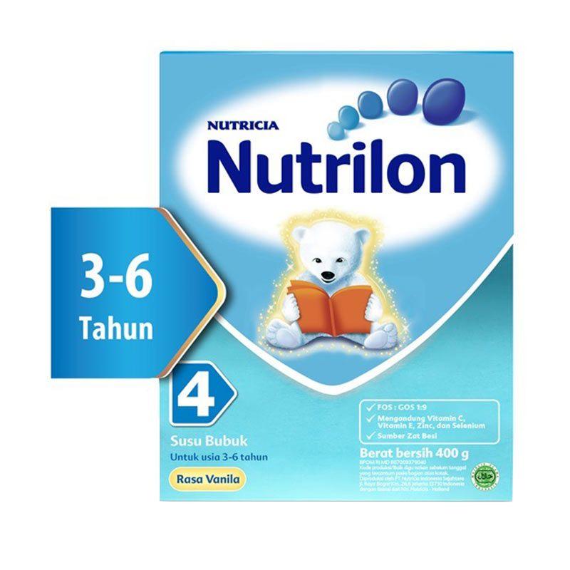 Nutrilon 4 Susu Vanila 400gr Box