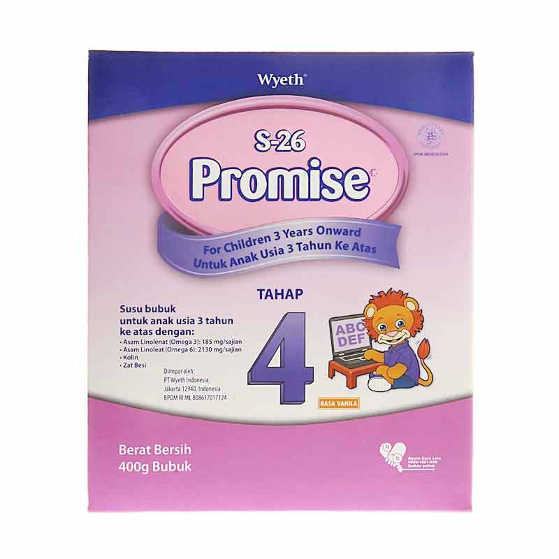 S26 Promise Tahap 4 400gr Box