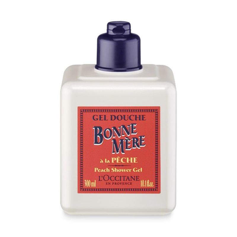 L'Occitane Bonne Mere Shower Gel Peach Sabun Mandi [300 mL]