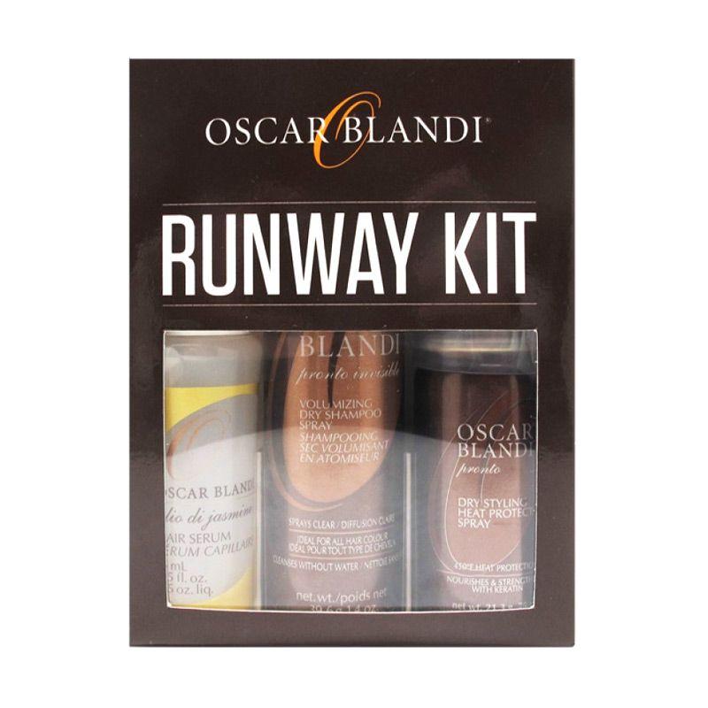 Oscar Blandi Runway ...tan Rambut