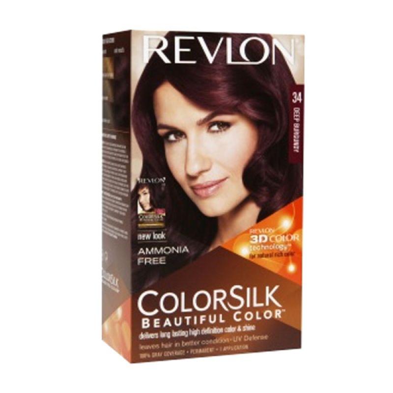 Revlon Colorsilk Beautiful Color Deep Burgundy Cat Rambut