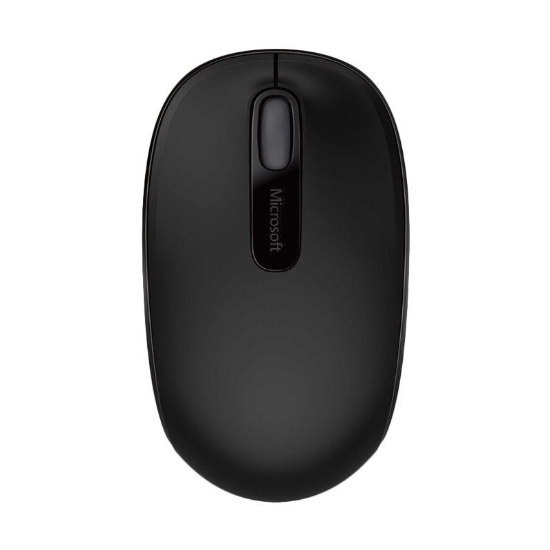 Microsoft 1850 Hitam Wireless Mouse [U7Z-00010]
