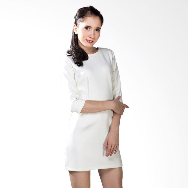 Papercut Bodycon White Dress
