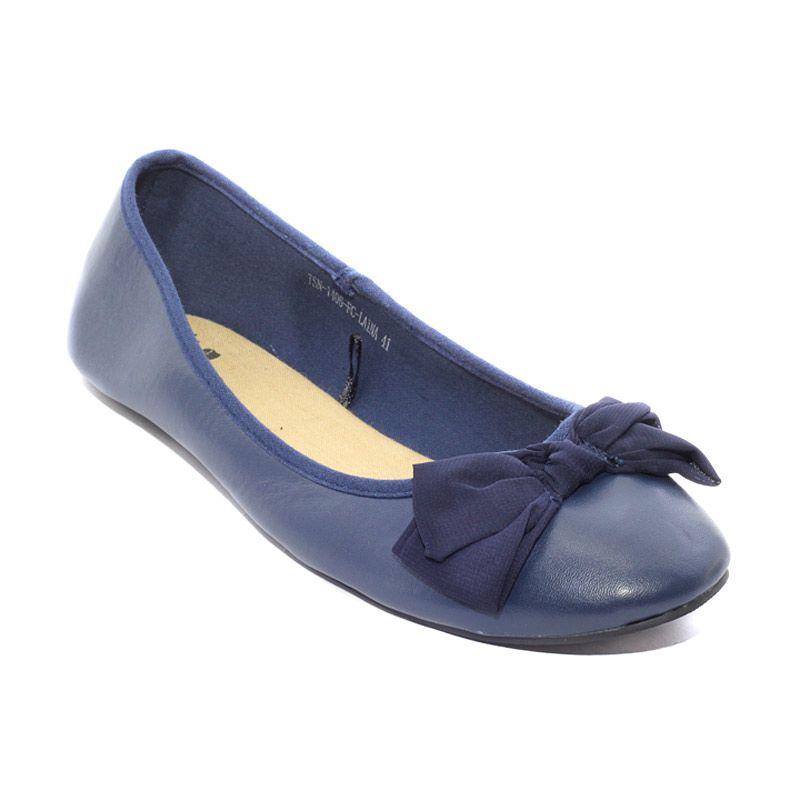 The Little Thing She Needs 1406 FC Laina 6L Navy Sepatu Flat