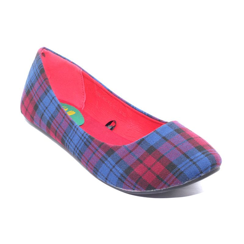 The Little Thing She Needs 1406 FC Tahlia 6B Blue Sepatu Flat