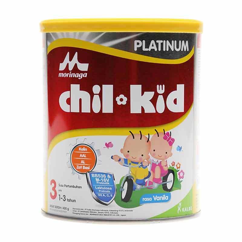 Morinaga Chil Kid Moricare+ Vanila 400gr Tin