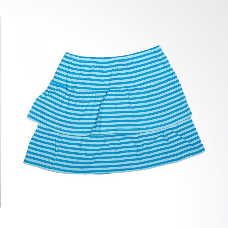 Faded Glory Stripes BO 189 Blue Rok Anak