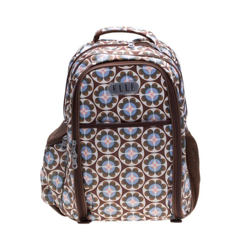 Elle Groove CA1546-BR Brown Diaper Backpack